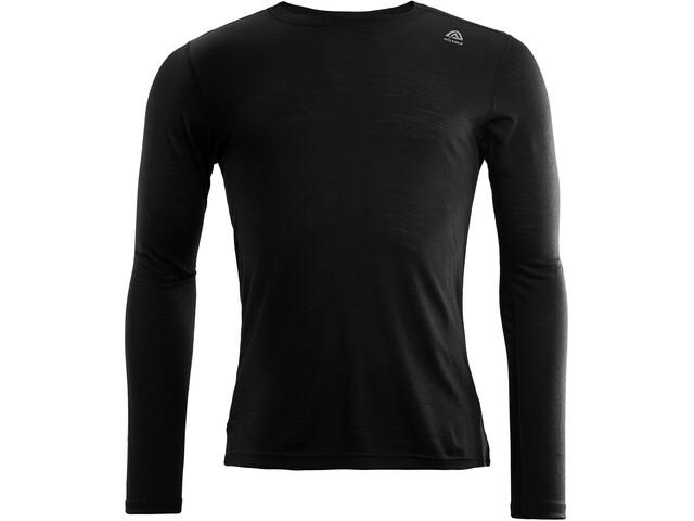 Aclima LightWool T-shirt à col ras-du-cou manches courtes Homme, jet black